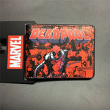 2016 New Arrive PVC and PU Leather Purse American Marvel Comic Deadpool Wallet With Card Holder Dollar Price Free Shipping - Animetee - 15