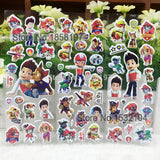 Free shipping Anime Dragonball cartoon bubble stickers,3d Bakugan DIY Foam wall stickers,For Kids Festival Gift Rewards stickers - Animetee - 3