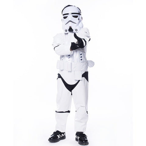 New Arrival Star Wars The Force Awakens Storm Troopers Halloween Costume Kids Cosplay Party Fancy Dress - Animetee