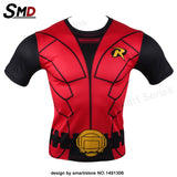 Marvel Comic Marvel's Deadpool Dead pool Compression T-Shirt Excercise Fit Tight Gym Civil War Costume - Animetee - 22