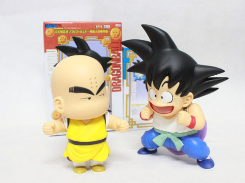 2 pcs/Lot Japan Anime Dragon Ball Z 21cm Height Goku Kuririn PVC Action Figure Dragonball New In Box Classic Toys Free Shipping - Animetee
