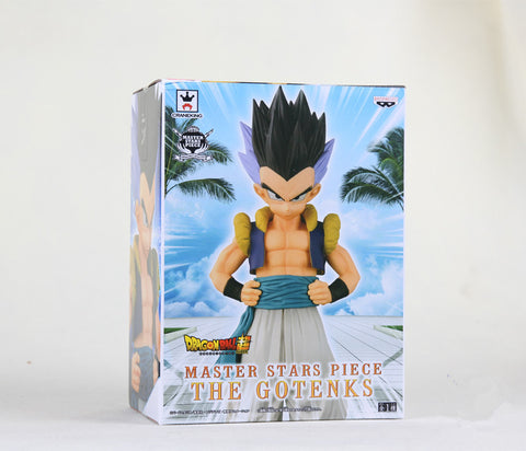 Dragon Ball Z Action Figures Gotenks MSP Toy Super Saiyan 23cm Anime Dragonball Z Figures DBZ Esferas Del Dragon Toy - Animetee