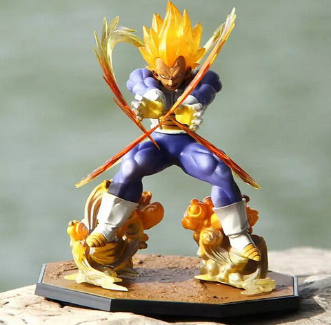 Dragonball z figurines toy 2015 New 15cm Soul Vegeta Tamashii Nations super saiyan 5 kai Anime Dragonball gashapon  collectibles - Animetee