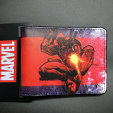 2016 New Arrival Full PU Marvel Purse Deadpool Spiderman Punisher Cartoon Short Wallets With Card Holder Free Dollar Price - Animetee - 1