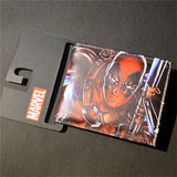 2016 New Arrive PVC and PU Leather Purse American Marvel Comic Deadpool Wallet With Card Holder Dollar Price Free Shipping - Animetee - 12