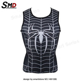 Marvel Comic Marvel's Deadpool Dead pool Compression T-Shirt Excercise Fit Tight Gym Civil War Costume - Animetee - 11