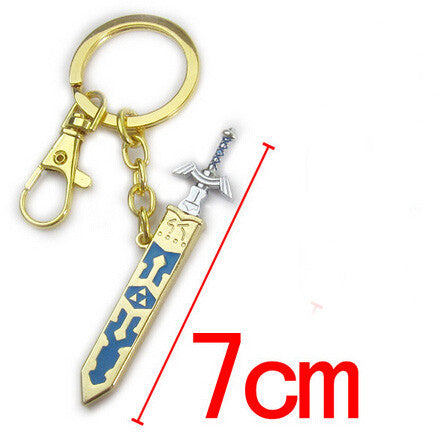 Legend of Zelda Removal Master Swword Long Chain Pendant Necklace 7CM - Animetee - 5