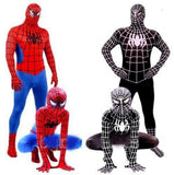 Spiderman Spider Man Venom Superhero Cosplay Costume Lycra material youth and adult sizes - Animetee - 1