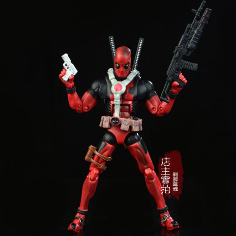 17cm Marvel Univers Super Heros Deadpool Action Figure Collection toys for christmas gift Weapons Free shipping - Animetee - 1