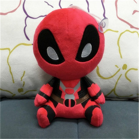 2016 New Hot 20cm Cute X-men Plush Doll Toy Deadpool Q Anime Figure Collectible Toys Limited Collection FUNKO POP - Animetee - 1