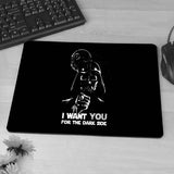 Darth, Vader, Mask, Star Wars  Mouse Pad Gift Mat Non-Skid Rubber Pad - Animetee - 7