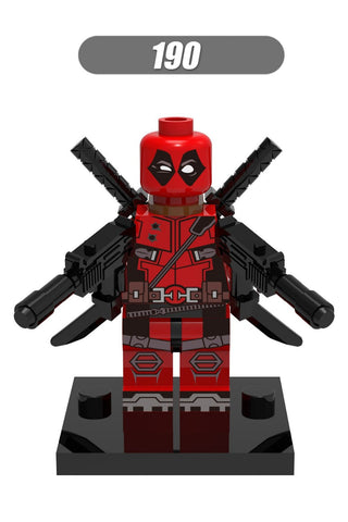 190 Deadpool Individual minifigure super hero compatible With Lego - Animetee