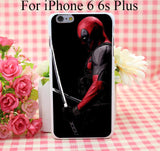 Movie Deadpool Hard White Cover Case for iPhone 4 4s 5 5s 5c 6 6s Protect Phone Cases - Animetee - 2