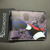 2016 New Arrival Full PU Marvel Purse Deadpool Spiderman Punisher Cartoon Short Wallets With Card Holder Free Dollar Price - Animetee - 12