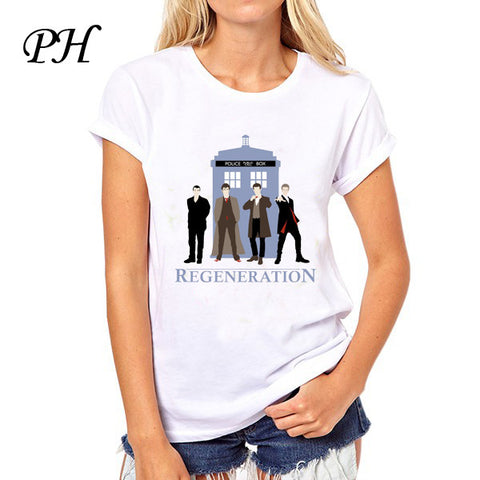 Dr Doctor Who Regeneration Tee T-shirt - Animetee - 1