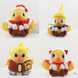 Anime Final Fantasy VII Chocobo Plush doll 13-17cm Soft Stuffed toy Plush kawaii Cute stuffed Animal toys for children gifts
