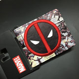 2016 New Arrive PVC and PU Leather Purse American Marvel Comic Deadpool Wallet With Card Holder Dollar Price Free Shipping - Animetee - 22