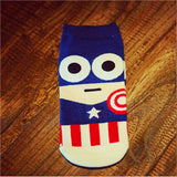 South Park Style Captain America Batman Ironman TMNT Ninja turtles Bruce Lee Socks - Animetee - 4