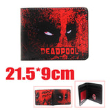 2016 New Arrive PVC and PU Leather Purse American Marvel Comic Deadpool Wallet With Card Holder Dollar Price Free Shipping - Animetee - 13