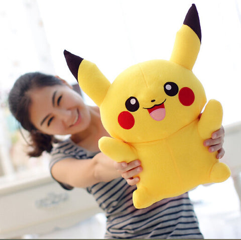 Pikachu Plush Toys Very Cute Pokemon Plush Toy Gift - Animetee