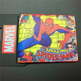 2016 New Arrival Full PU Marvel Purse Deadpool Spiderman Punisher Cartoon Short Wallets With Card Holder Free Dollar Price - Animetee - 3