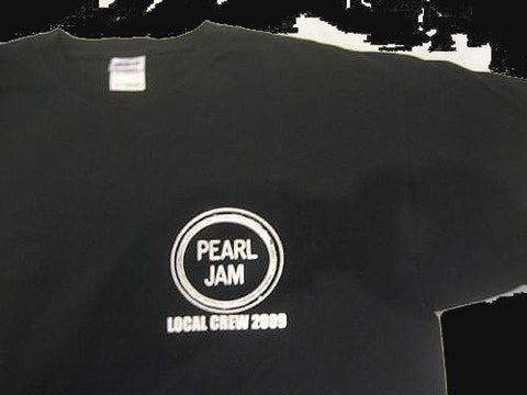 PEARL JAM Backspacer 2009 LOCAL CREW T-SHIRT - Animetee
