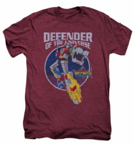 Officially Licensed Voltron Defender Of The Universe Licensed Adult Premium Shirt 80's - Animetee