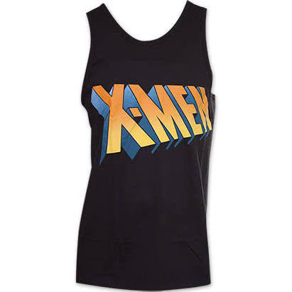 Officially Licensed Xmen Logo Tank top Cosplay Costume T-Shirt - Animetee