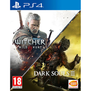 The Witcher III: Wild Hunt & Dark Souls III Compilation - PS4