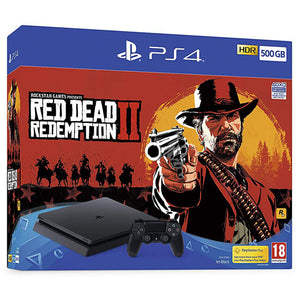 Sony PlayStation 4 (500GB) + Red Dead Redemption 2