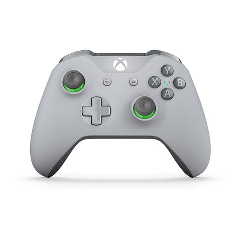Official Xbox Wireless Controller - Grey/Green