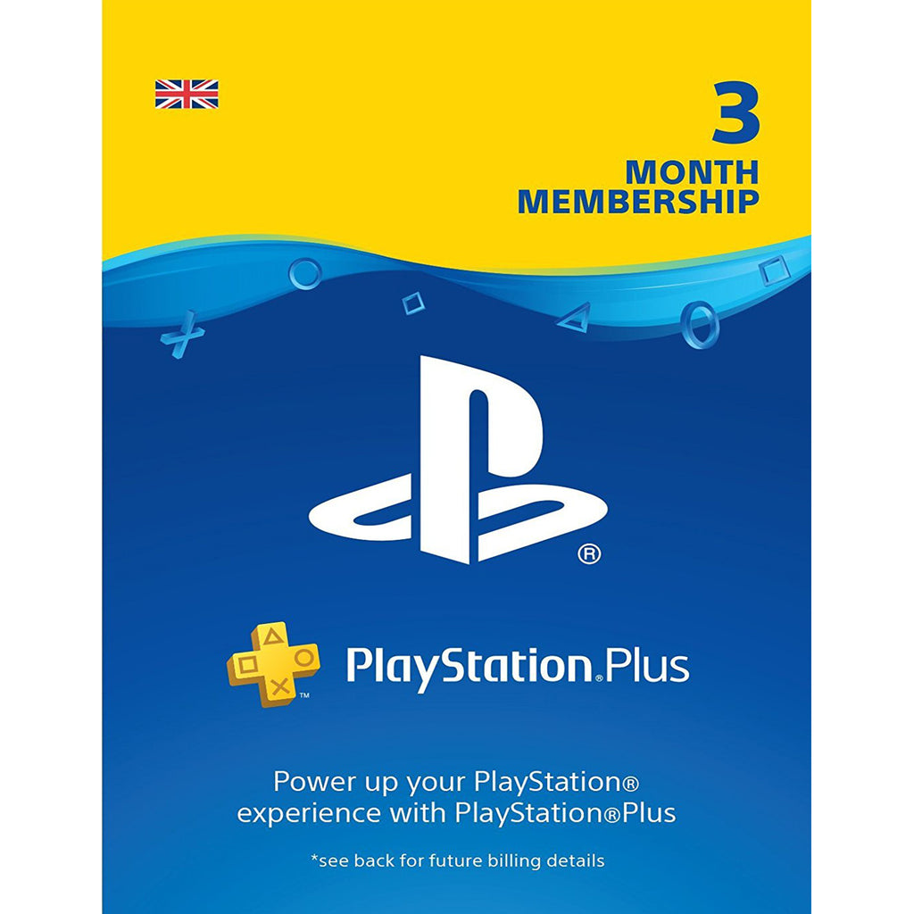 Sony PlayStation Plus - 90 Day Subscription