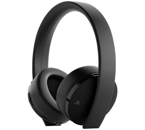 Sony PlayStation Gold Wireless Stereo Headset - Black