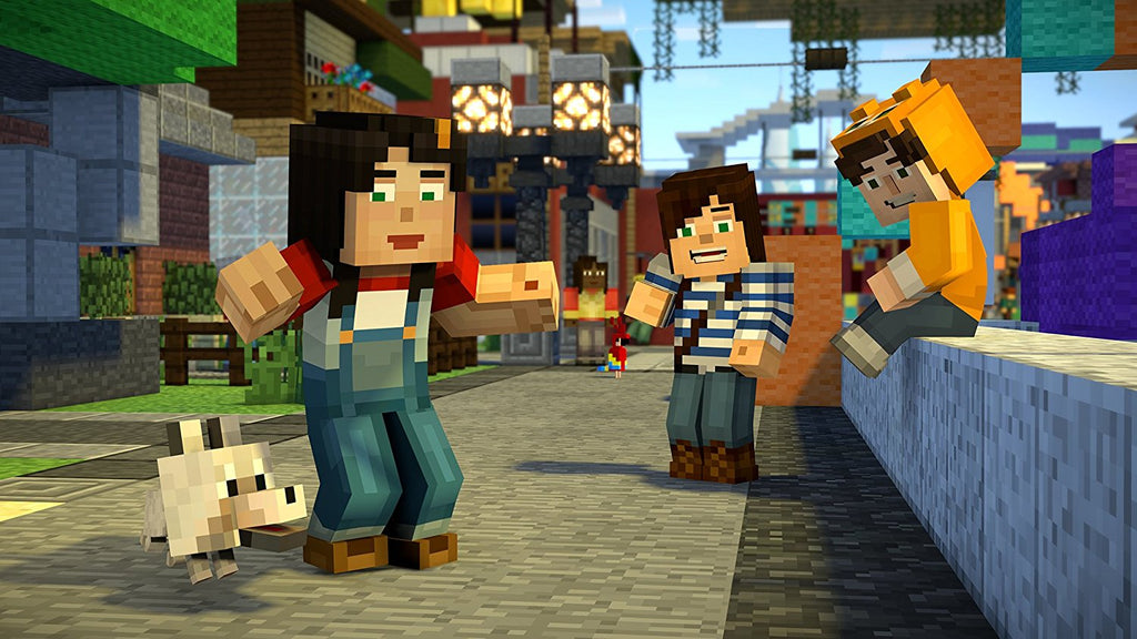 Minecraft Story Mode Season 2 Pass Disc Ps4 Entertainment