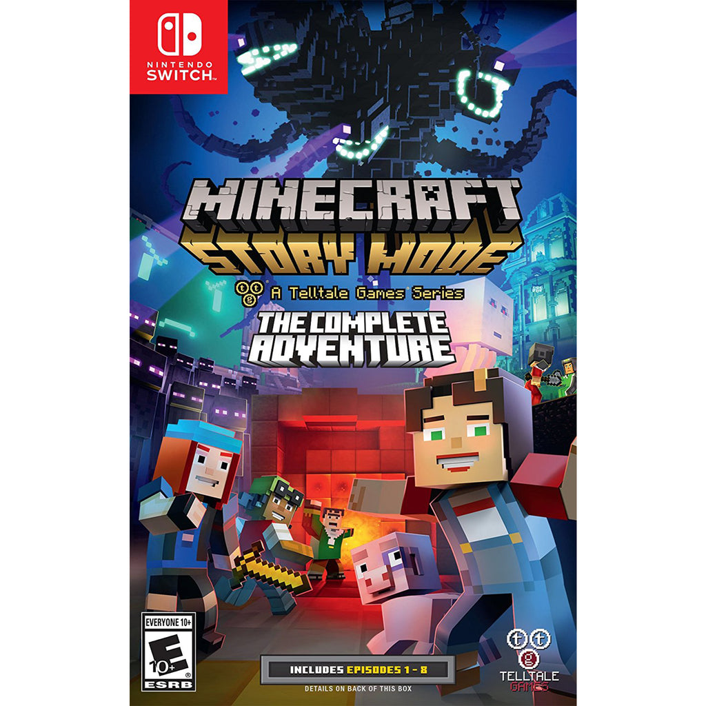 Minecraft Story Mode Complete Adventure - Switch