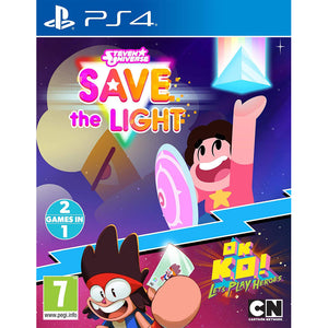 Steven Universe: Save the Light & OK K.O.! Let's Play Heroes Combo Pack - PS4