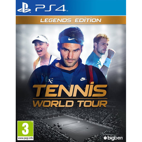 Tennis World Tour: Legends Edition - PS4