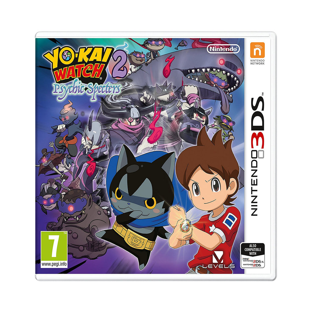 YO-KAI WATCH 2  Psychic Specters - 3DS – Entertainment Go s Deal Of ... a4161df30b