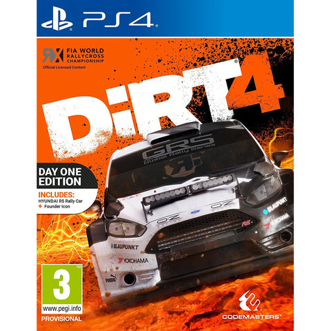 Dirt 4: Day One Edition - PS4