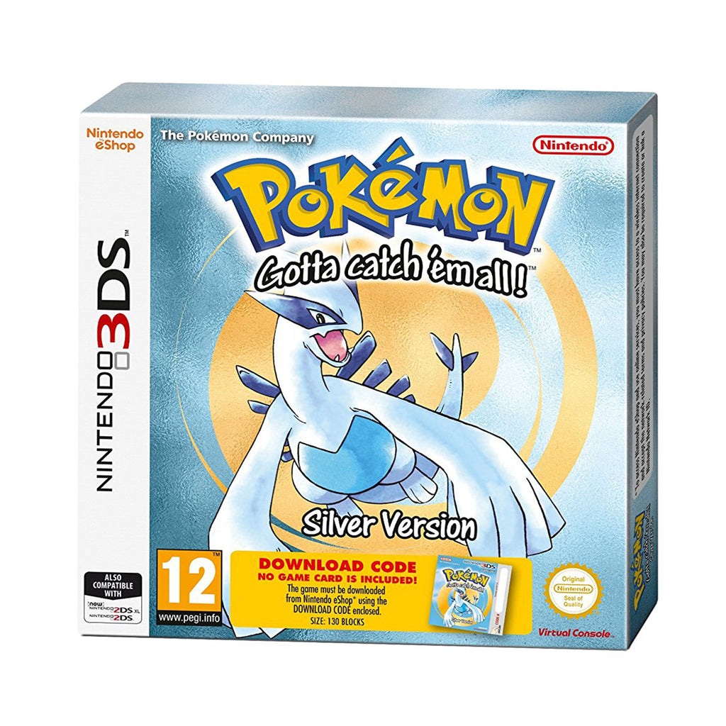 Pokemon Silver Packaged Download Code - 3DS