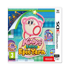 Kirby's Extra Epic Yarn - 3DS