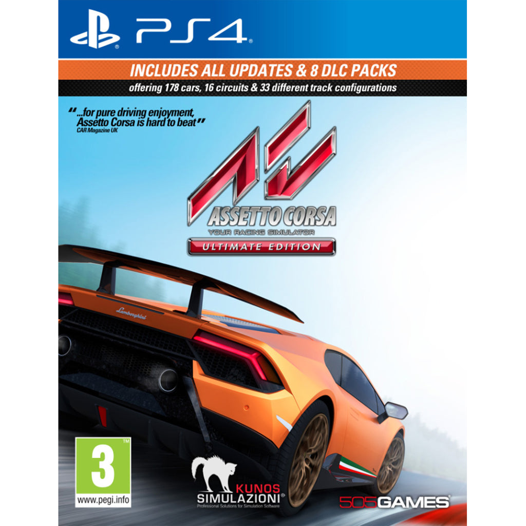 Assetto Corsa Ultimate Edition - PS4
