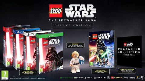 LEGO Star Wars: The Skywalker Saga Deluxe Edition- Xbox Series X