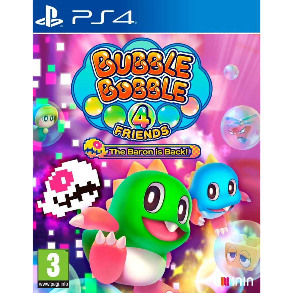 Bubble Bobble 4 Friends The Baron Is Back! - PS4