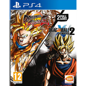 Dragon Ball FighterZ And Dragon Ball Xenoverse 2 Double Pack - PS4