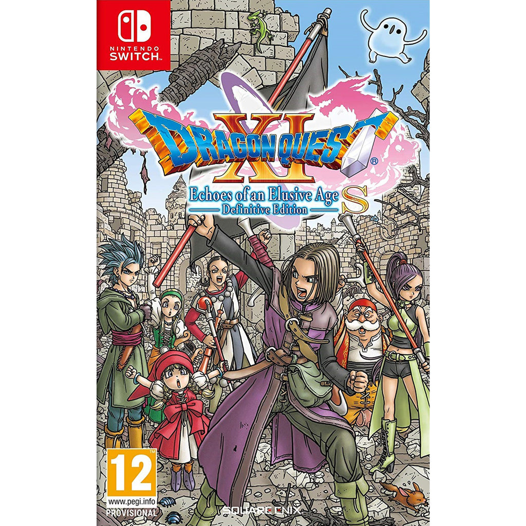 Dragon Quest XI: Echoes Of An Elusive Age Definitive Edition - Switch
