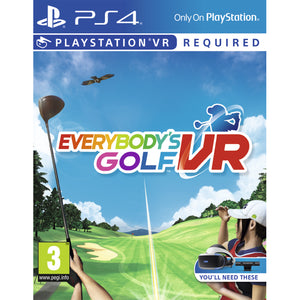 Everybody's Golf VR - PSVR