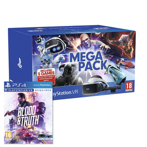 Sony PlayStation VR Mega Pack + Blood and Truth