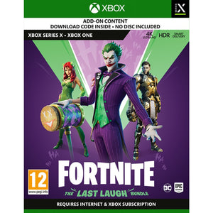 Fortnite The Last Laugh Xbox Game [Code In A Box]