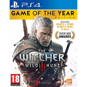 The Witcher 3 Game of the Year Edition - PS4